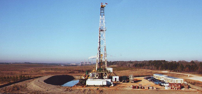Drilling Rig in Texas